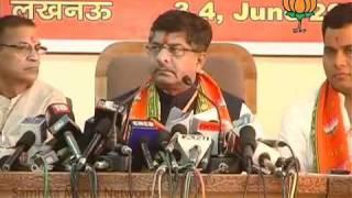 National Executive Meeting in Lucknow: Sh. Ravi Shankar Prasad: 04.06.2011