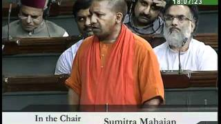 Flood & Drought situation in the Country: Sh. Yogi Adityanath: 27.08.2010
