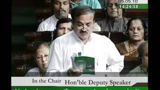 Specific Parameters for Conducting the Census, 2011: Sh. Ananth Kumar: 05.05.2010