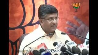 Meet with  Anna Hazare on Lokpal bill issue: Sh. Ravi Shankar Prasad: 01.07.2011