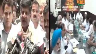 Anna Hazare meet with Senior leaders on Lokpal bill issue: Sh. Ravi Shankar Prasad: 01.07.2011