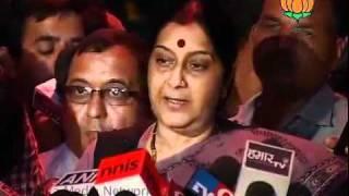 All Party Meet on Lokpal Bill: Smt. Sushma Swaraj: 03.07.2011