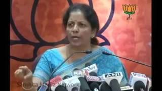 P. Chidambaram in 2G Spectrum: Smt. Nirmala Sitharaman: 08.07.2011