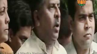 BJP Byte: Sh. Ravi Shankar Prasad on Yeddyurappa Resignation : 27.07.2011