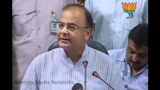 BJP Press: PM Unwanted Statement before Monsoon Session: Sh. Arun Jaitley: 01.08.2011