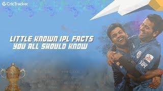 5 Little known IPL Facts