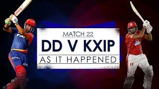 IPL 2018: Match 22, DD vs KXIP: As it happened