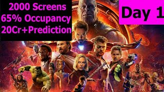 Avengers Infinity War Screen Count, Advance Booking And Audience Occupancy