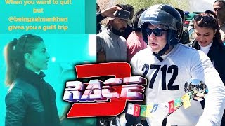 Salman Khan And Jacqueline On Race 3 On Location Leh Ladakh