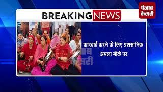 चंडीगढ़ प्रशासन के खिलाफ लोगों ने खोला मोर्चा, मकान तोड़ने की कारवाई का कर रहे विरोध