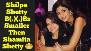 Shilpa Shetty Assets Are Smaller Then Shamita Shetty - Have A Zoom Look