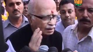 BJP Byte on Anna Hazare's Fast on Jan Lokpal Bill: Sh. Lal Krishna Advani: 28.08.2011