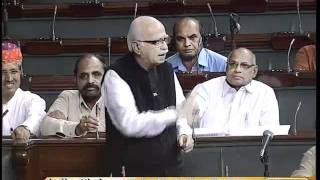 Discussion Under Rule 193 on Prime Minister's Statement: Sh. L. K. Advani: 17.08.2011