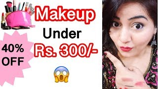 Beginner Makeup under Rs.300 - Stay Quirky 100K  Discount | Affordable Makeup | JSuper Kaur