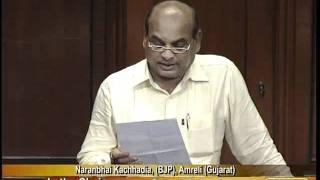 Matters of Urgent Public Importance: Sh. Naranbhai Kachhadia: 24.08.2011
