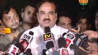 BJP Byte on Advani Rath Yatra: Sh. Ananth Kumar: 08.09.2011
