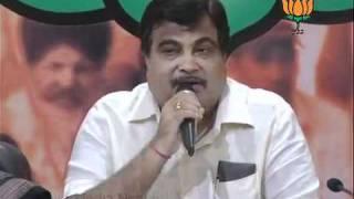 BJP Press: BJP Haryana Coalition: Sh. Nitin Gadkari: 10.09.2011