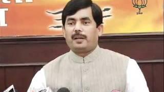 BJP Press: Petrol & Oil Price Hike: Sh. Syed Shahnawaz Hussain: 15.09.2011