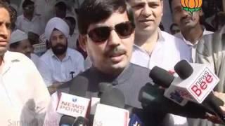 BJP Byte on Sh. Narendra Modi Fast: Sh. Syed Shahnawaz Hussain: 17.09.2011