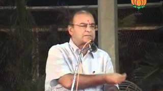 Speech in Current Political Scenario: Sh. Arun Jaitley: 18.08.2011