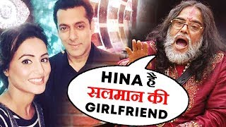 Swami Om Claims Salman Khan Is Dating Hina Khan | Swami Om Goes Crazy