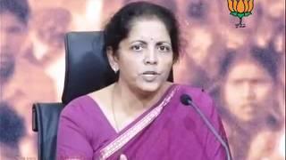 BJP Press: 2G Scam, Telangana & Rajbala Death: Smt. Nirmala Sitharaman: 27.09.2011