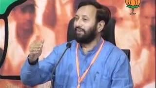 BJP Press: Key Point of Sh. Arun Jaitley's Speech by Sh. Prakash Javadekar: 30.09.2011