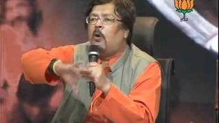 BJP Press: Upcoming Elections in Uttar Pradesh & Governance Issues: Sh.Chandan Mitra: 01.10.2011