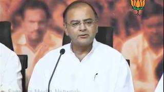 BJP Press: Upcoming Elections in Uttar Pradesh & Governance Issues: Sh. Arun Jaitley: 01.10.2011