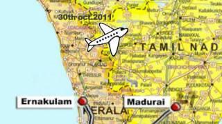 Jan Chetna Yatra: Route Map