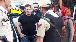 Leh Ladakh Police Welcomes Salman Khan For RACE 3 Shooting