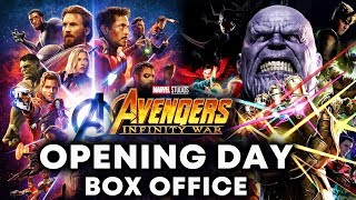 Avengers Infinity War OPENING DAY Collection | Box Office Prediction