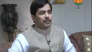 BJP Byte on Cash for Vote and Rewati Raman: Sh. Syed Shahnawaz Hussain: 18.10.2011