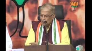 BJP Press on 2G Scam: Sh. Murli Manohar Joshi: 03.11.2011
