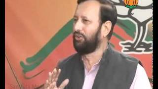 BJP Byte on 2G Scam: Sh. Prakash Javadekar: 19.11.2011