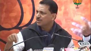 BJP Press: SC Decision of 2G Scam: Sh. Rajiv Pratap Rudy: 16.12.2010