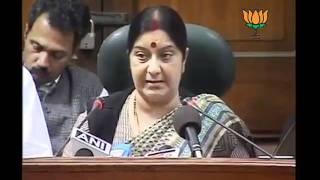 Joint Press On F.D.I & Parliment Session: Smt. Sushma Swaraj & Sh. Arun Jaitley: 28.11.2011