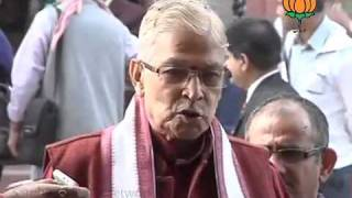BJP Byte on F.D.I. : Sh. Murli Manohar Joshi: 29.11.2011