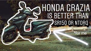 Honda Grazia 125 Ridden !
