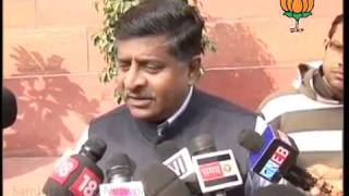 BJP Byte: Parliament Winter Session: Sh. Ravi Shankar Prasad: 07.12.2011