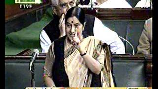 Inflation Situation in India: Smt. Sushma Swaraj: 08.12.2011