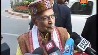 BJP Byte on P. Chidambaram in 2G Scam: Sh. Murli Manohar Joshi: 08.12.2011