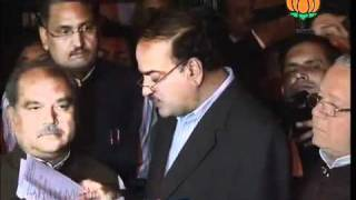 BJP Press: Meeting of BJP Leaders on Election Candidate of UP: Sh. Ananth Kumar: 13.12.2011
