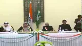 Visit of Crown Prince of Saudi Arabia to India: Signing of Agreements