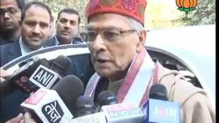 BJP Byte On Lokpal Bill: Sh. Murli Manohar Joshi: 23.12.2011