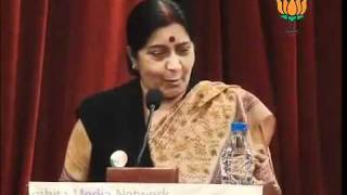 Smt. Sushma Swaraj Speech on Video-Documentation of Vajpayee's Parliamentary Speeches: 22.12.2011