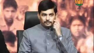 BJP Press: Lokpal Bill: Sh. Syed Shahnawaz Hussain: 26.12.2011