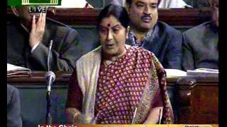 Bills for Consideration & Passing: Lokpal & Lokayuktas Bill, 2011: Smt. Sushma Swaraj: 27.12.2011