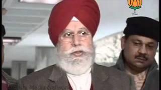 BJP Byte: Meeting of BJP Leaders on Lokpal Bill: Sh. S.S Ahluwalia: 27.12.2011