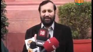 BJP Byte on Lokpal Bill: Sh. Prakash Javadekar: 28.12.2011